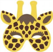 Childs Giraffe Mask